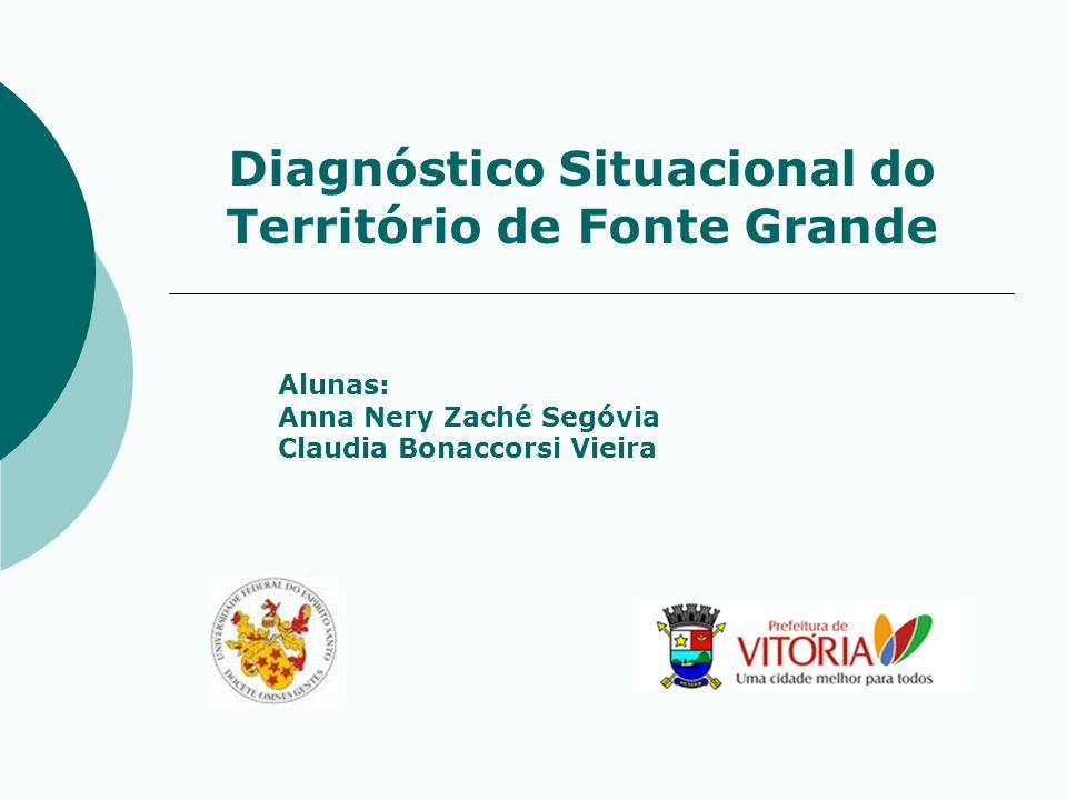 Diagnóstico Situacional do Território de Fonte Grande