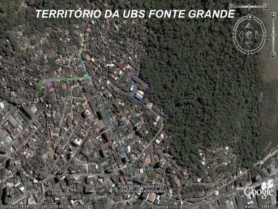 TERRITÓRIO DA UBS FONTE GRANDE