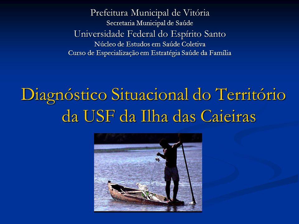 Diagnóstico Situacional do Território da USF da Ilha das Caieiras