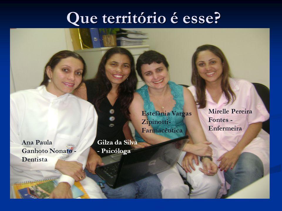 Que território é esse Mirelle Pereira Fontes - Enfermeira