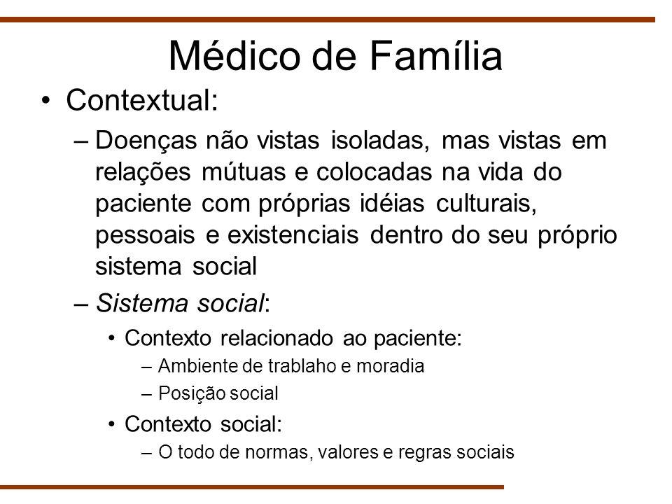 Médico de Família Contextual: