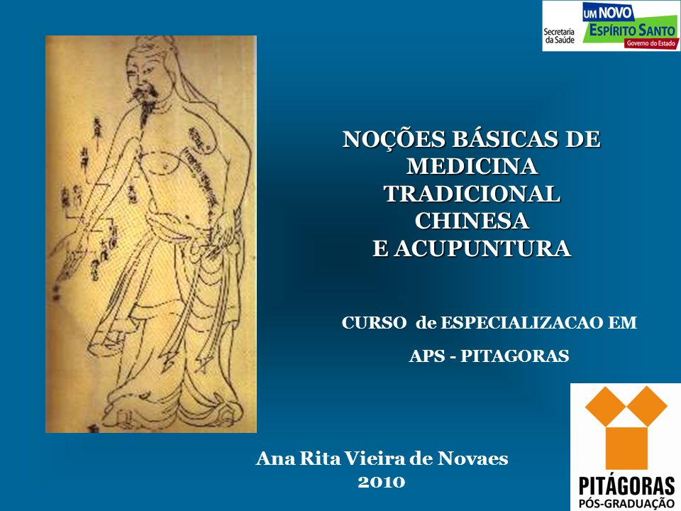 NOÇÕES BÁSICAS DE MEDICINA TRADICIONAL CHINESA E ACUPUNTURA