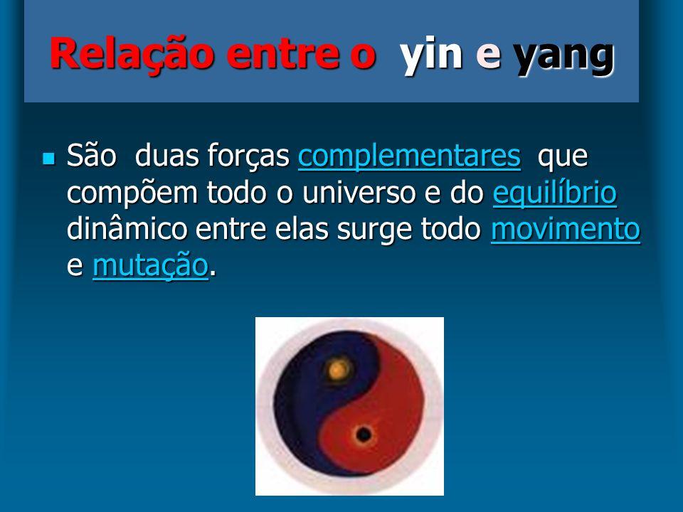 Relação entre o yin e yang