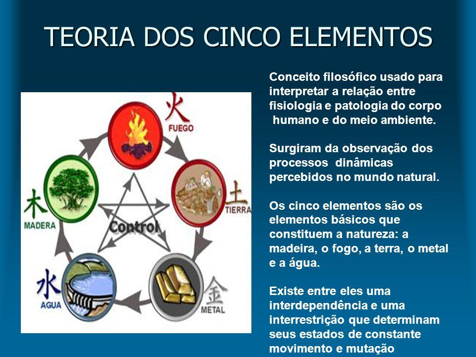 TEORIA DOS CINCO ELEMENTOS