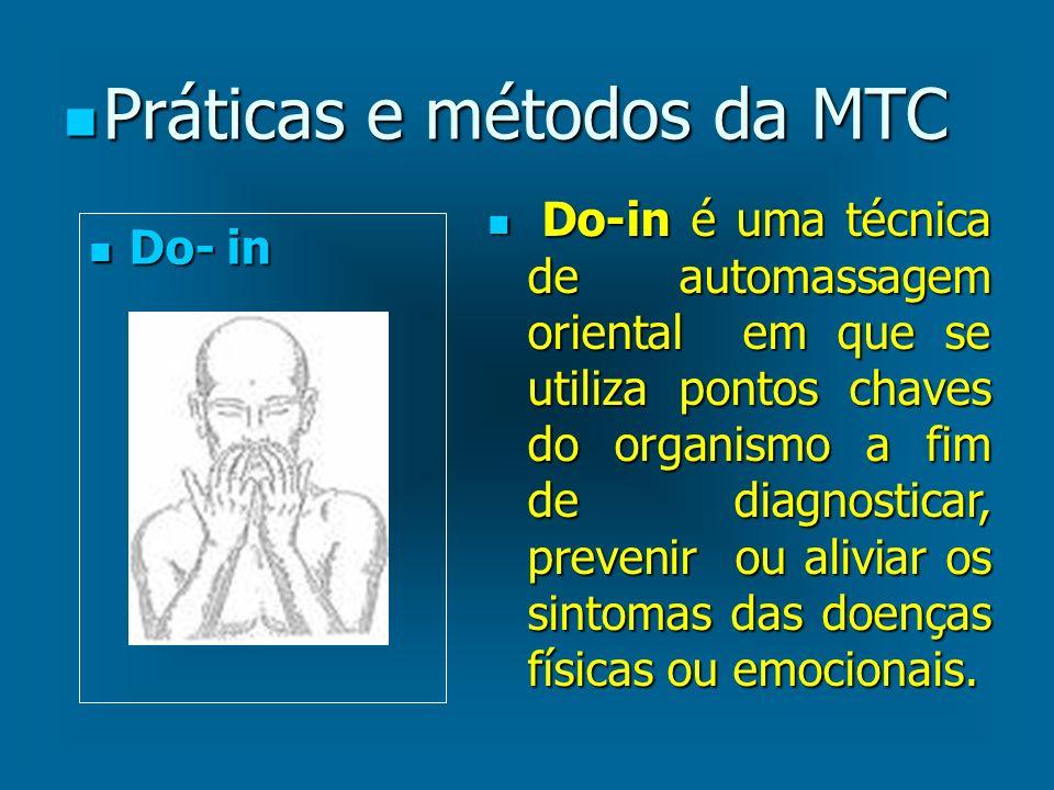 Práticas e métodos da MTC