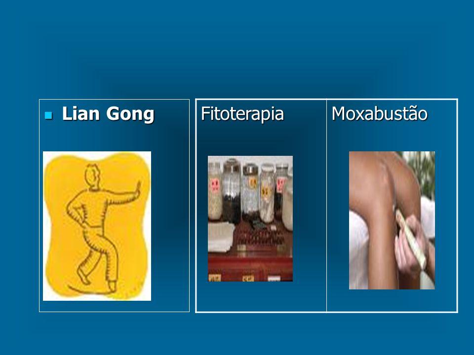 Lian Gong Fitoterapia Moxabustão