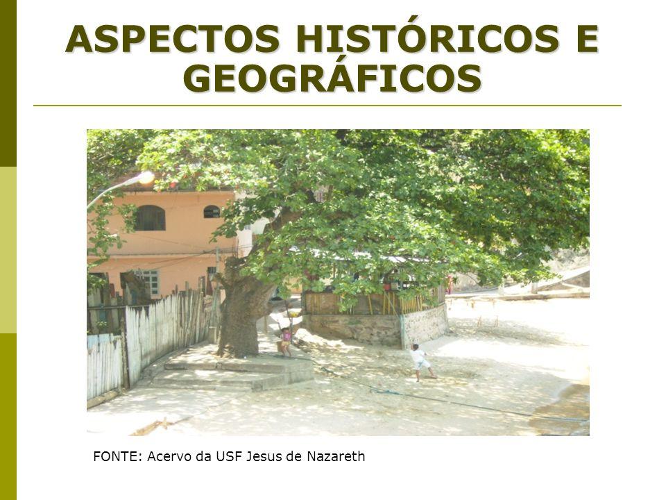 ASPECTOS HISTÓRICOS E GEOGRÁFICOS