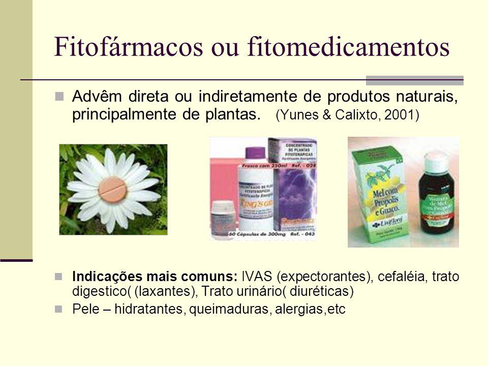 Fitofármacos ou fitomedicamentos