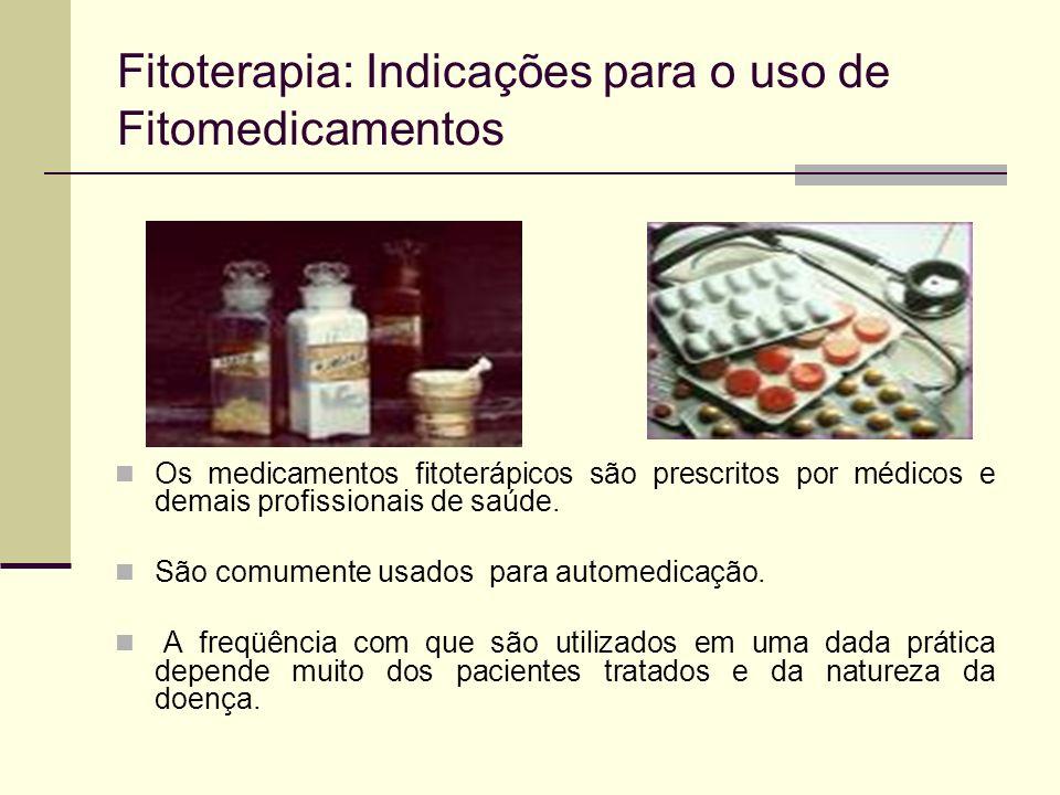 Fitoterapia: Indicações para o uso de Fitomedicamentos