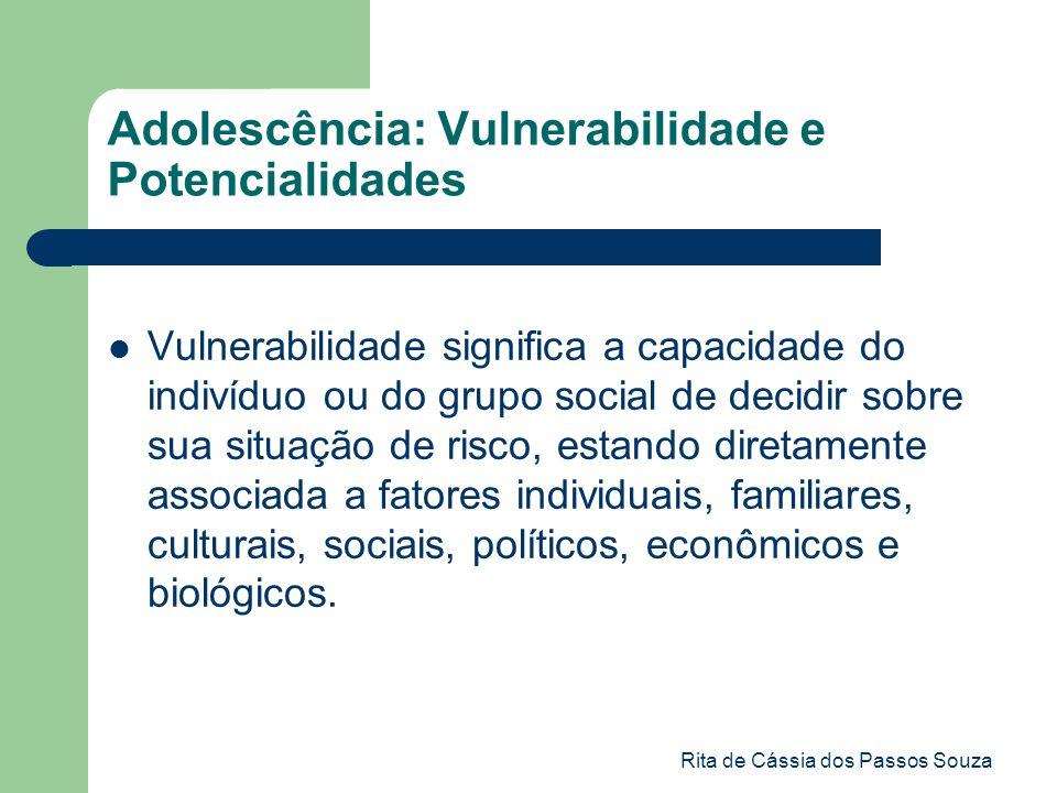 Adolescência: Vulnerabilidade e Potencialidades