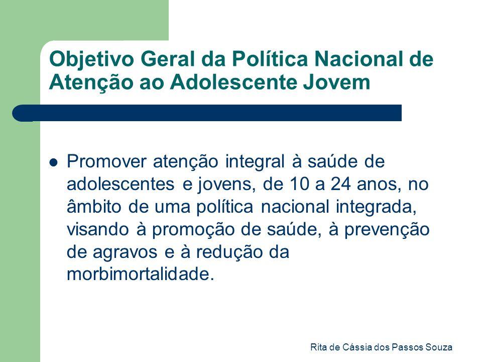 Objetivo Geral da Política Nacional de Atenção ao Adolescente Jovem