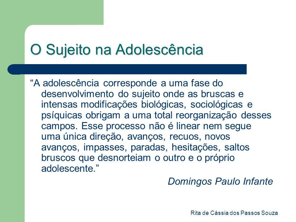 O Sujeito na Adolescência