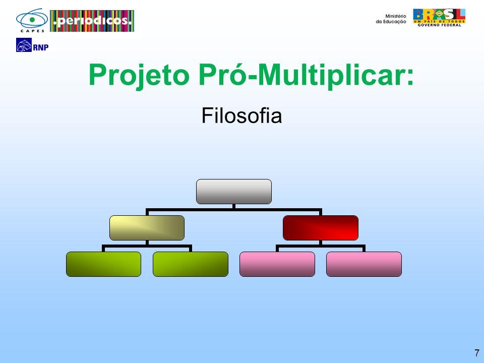 Projeto Pró-Multiplicar: