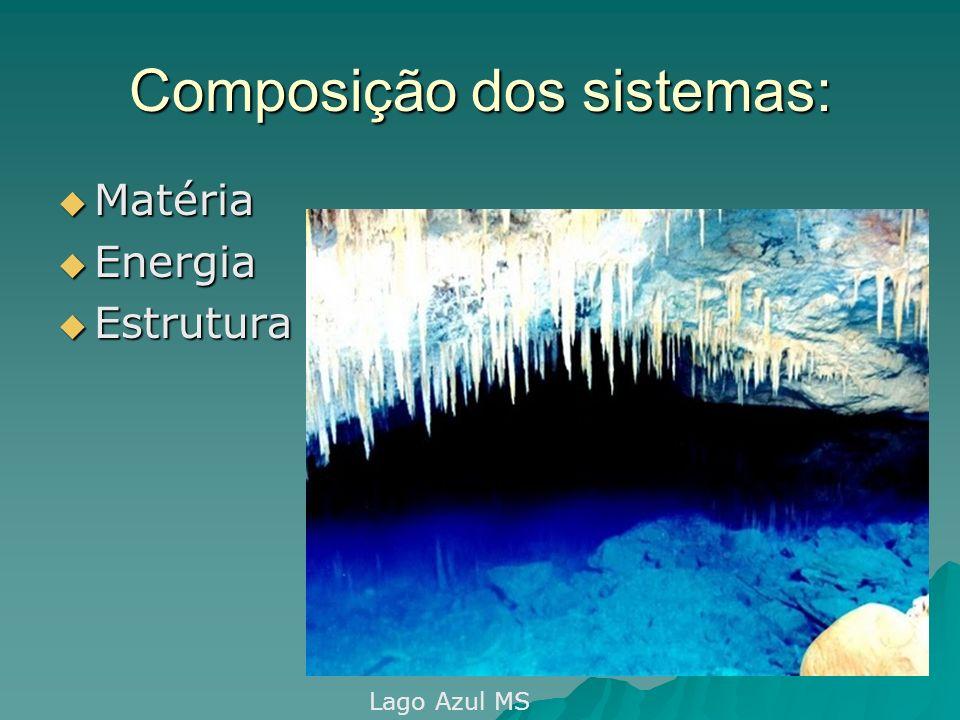 Composição dos sistemas: