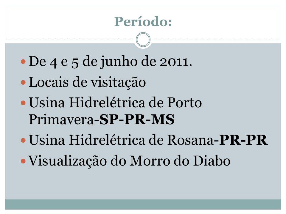 Usina Hidrelétrica de Porto Primavera-SP-PR-MS