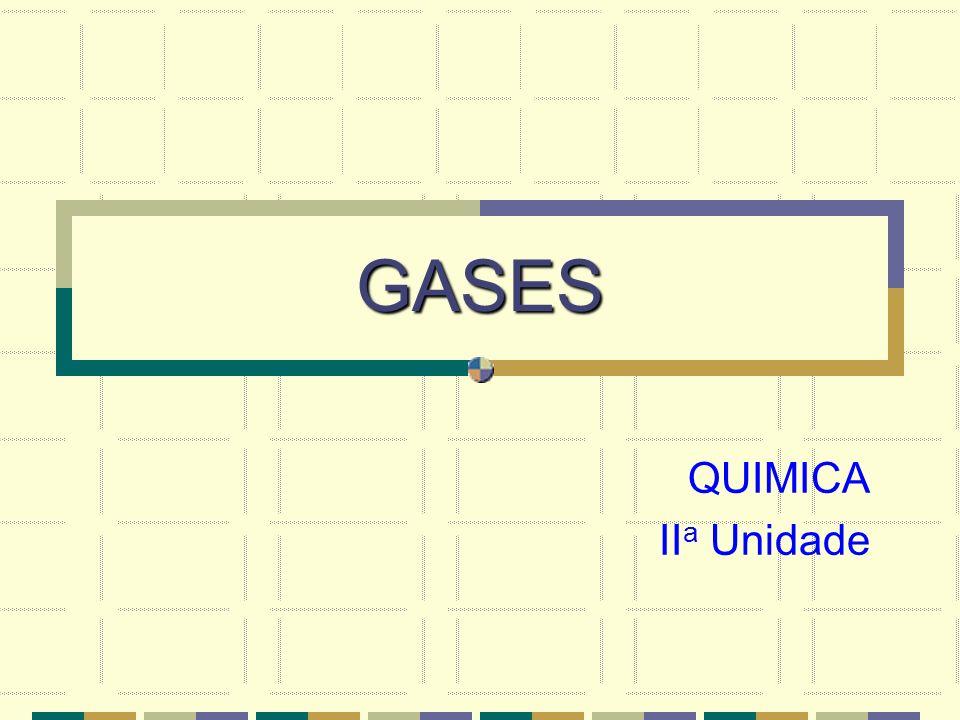 GASES QUIMICA IIa Unidade