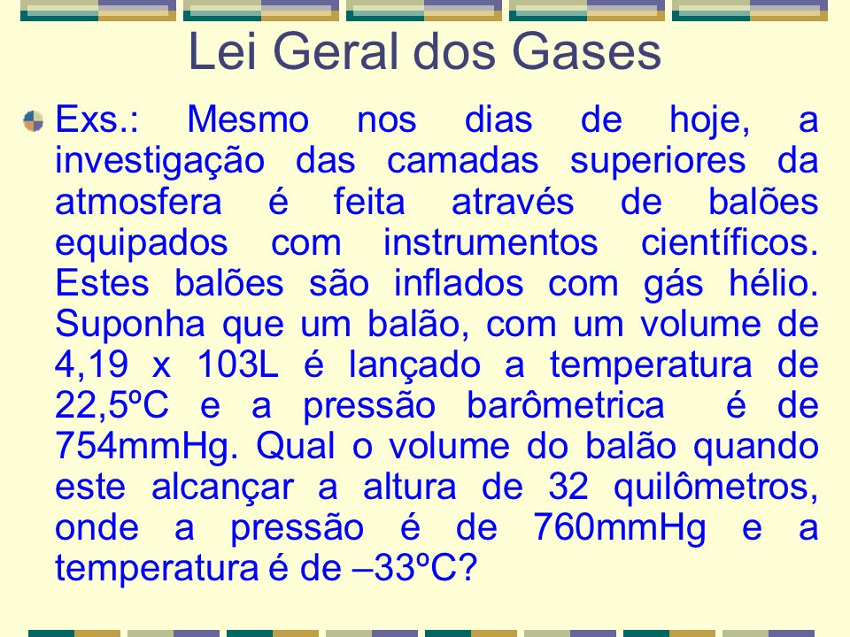 Lei Geral dos Gases