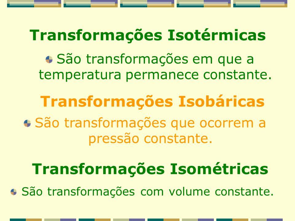 Transformações Isotérmicas