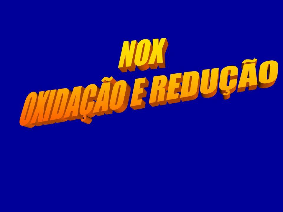 NOX OXIDAÇÃO E REDUÇÃO
