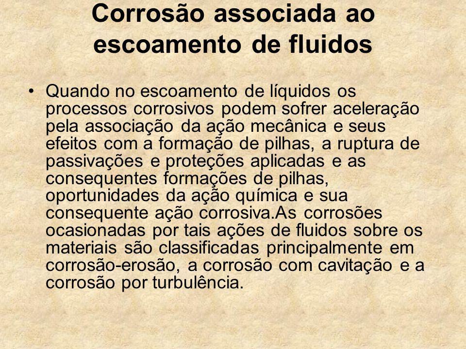 Corrosão associada ao escoamento de fluidos