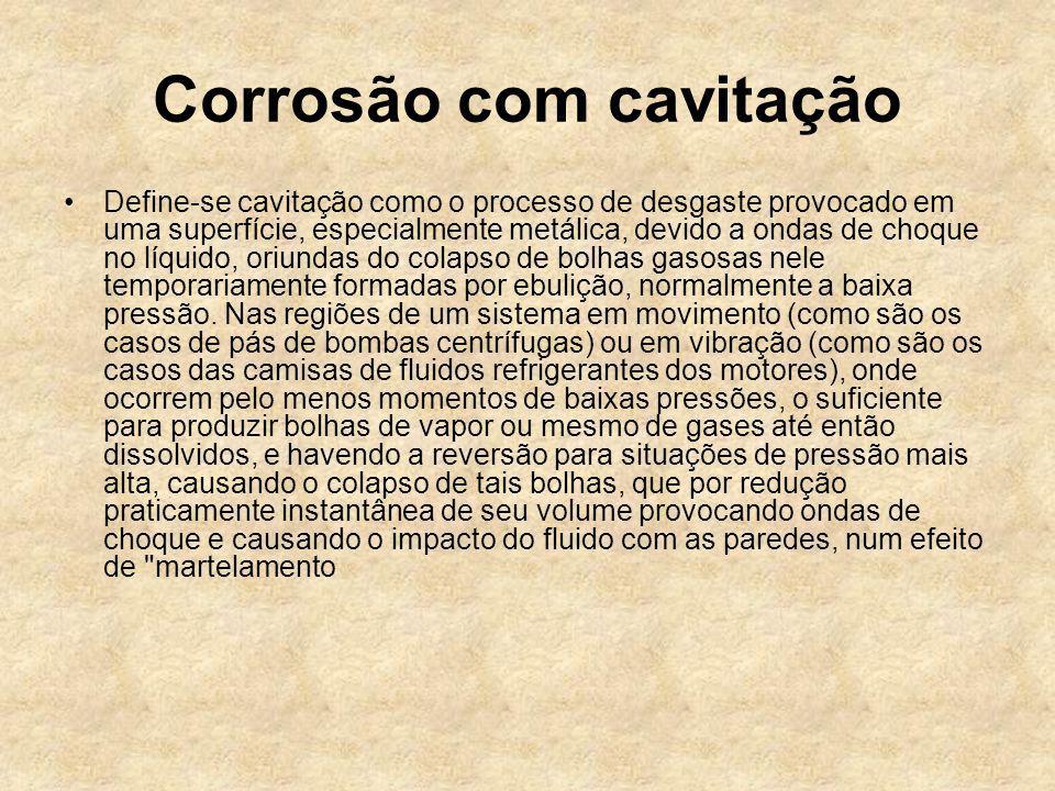 Corrosão com cavitação