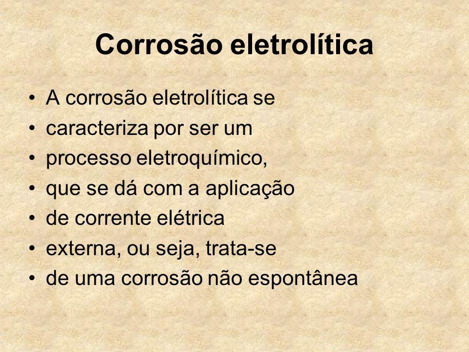 Corrosão eletrolítica