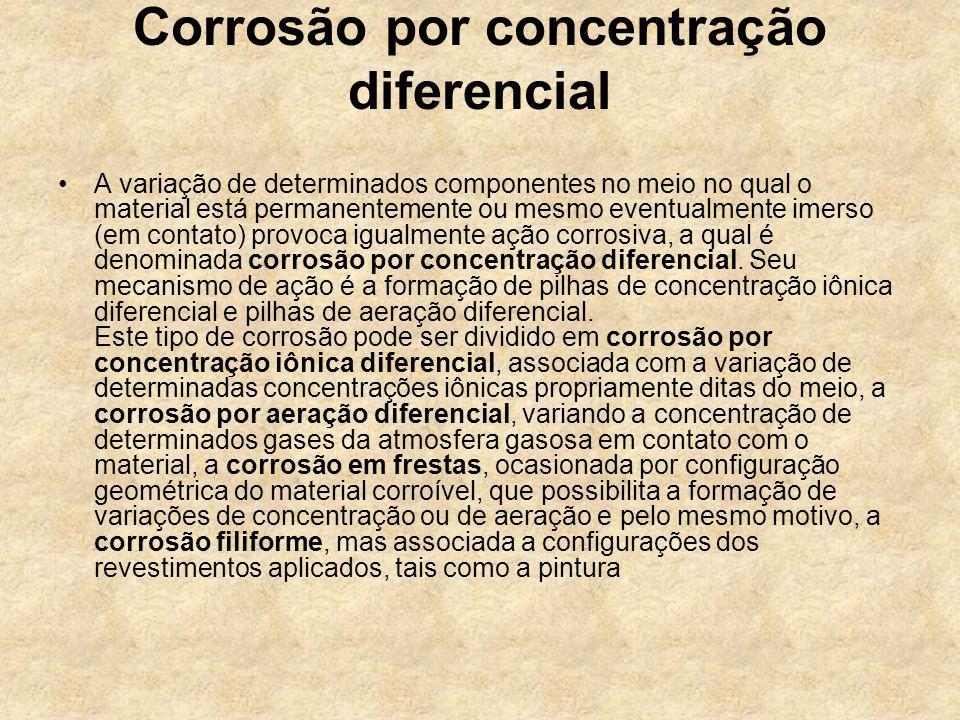 Corrosão por concentração diferencial