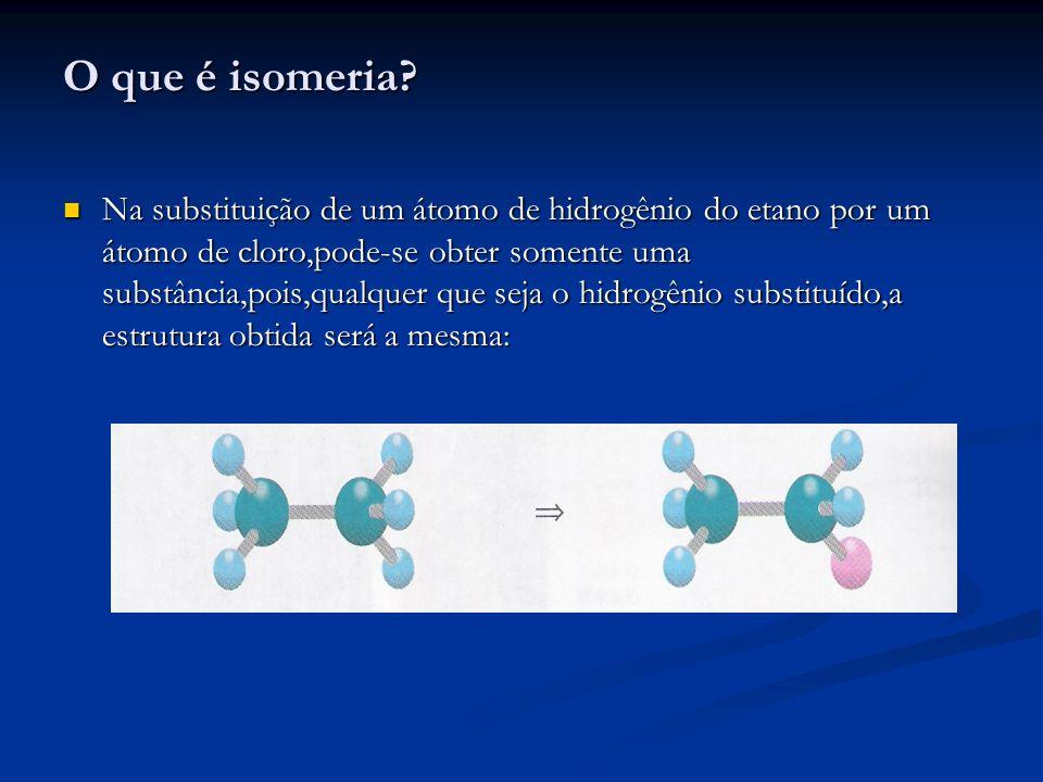 O que é isomeria