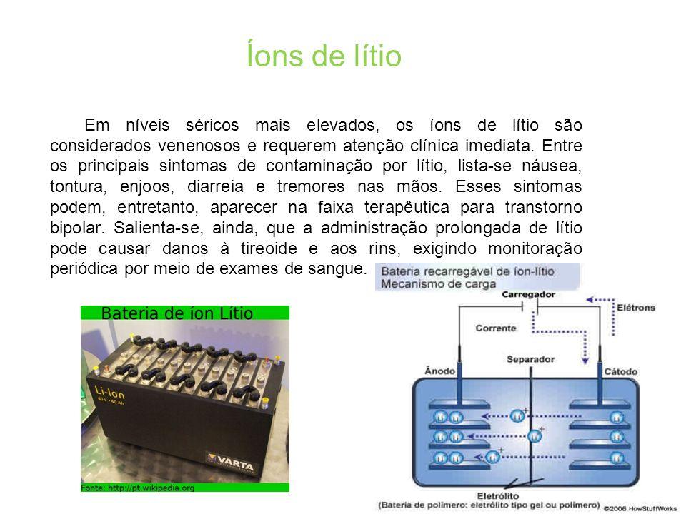 Íons de lítio
