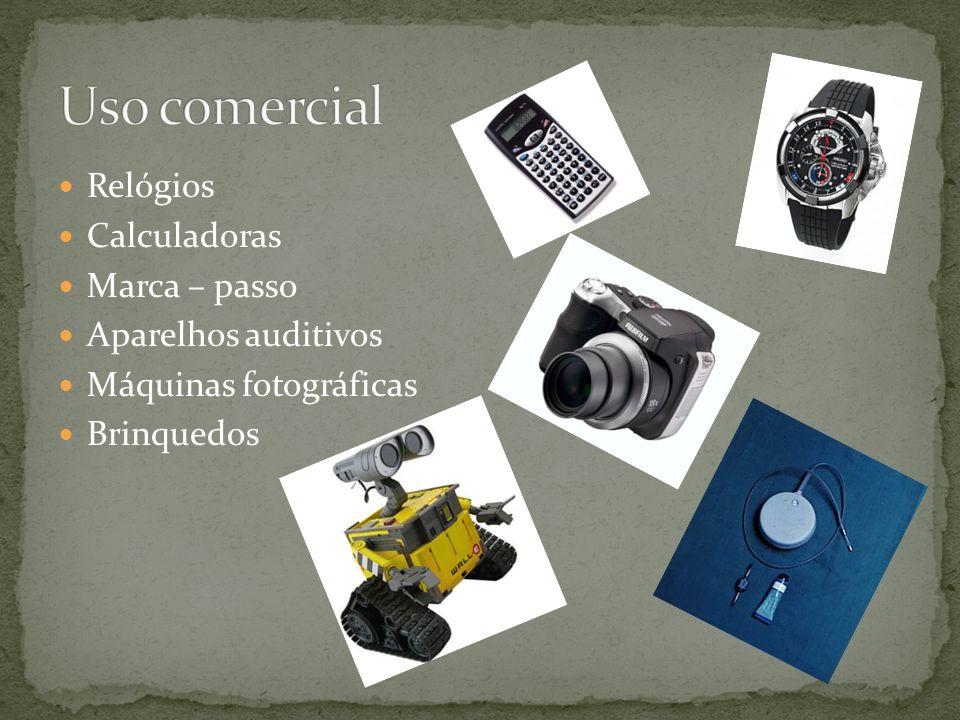 Uso comercial Relógios Calculadoras Marca – passo Aparelhos auditivos