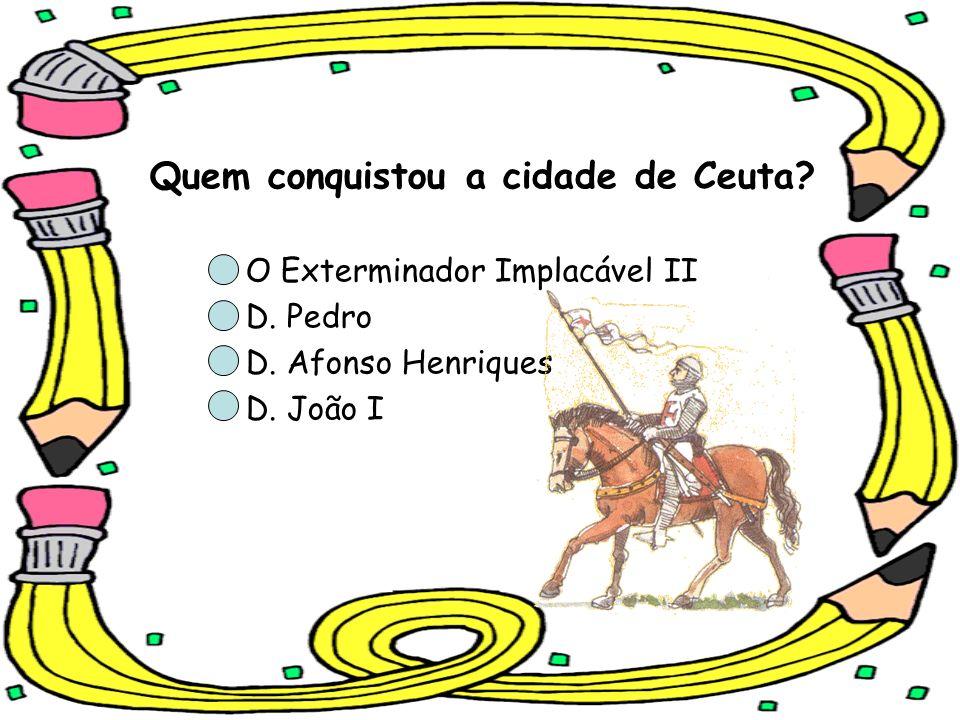 Quem conquistou a cidade de Ceuta