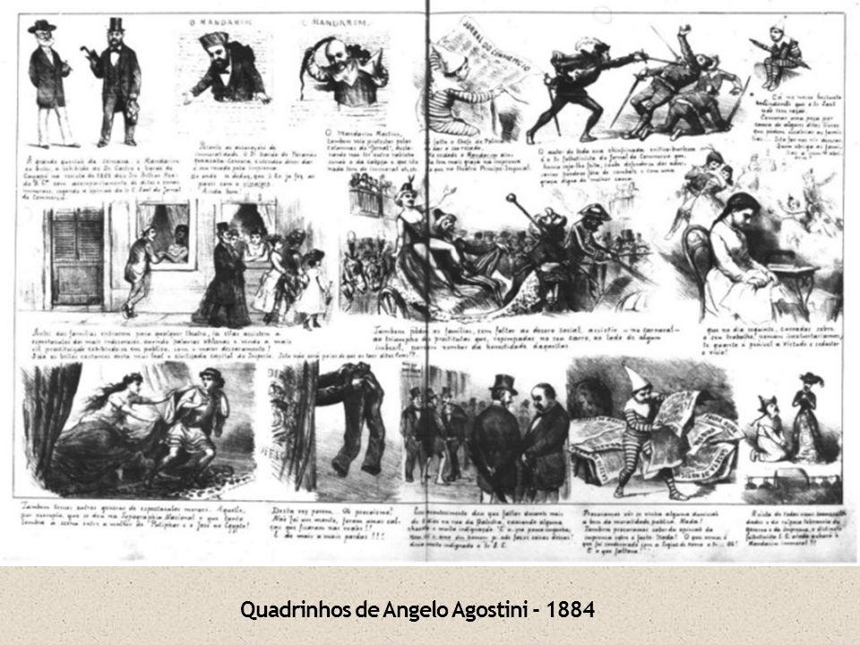 Quadrinhos de Angelo Agostini - 1884