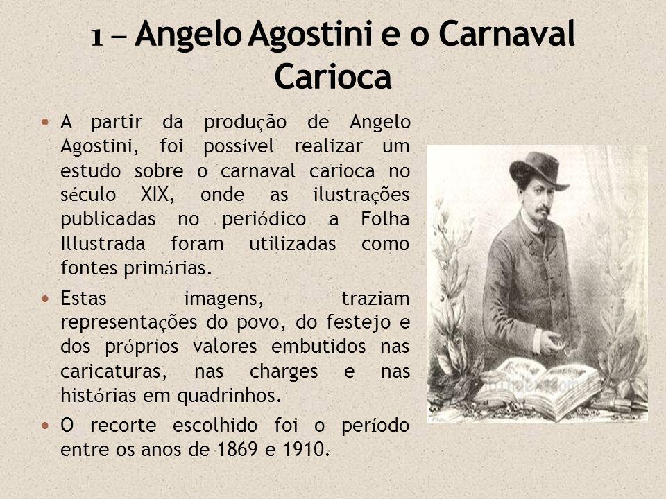 1 – Angelo Agostini e o Carnaval Carioca
