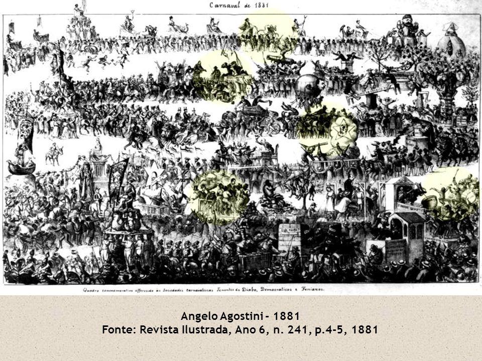 Angelo Agostini - 1881 Fonte: Revista Ilustrada, Ano 6, n. 241, p