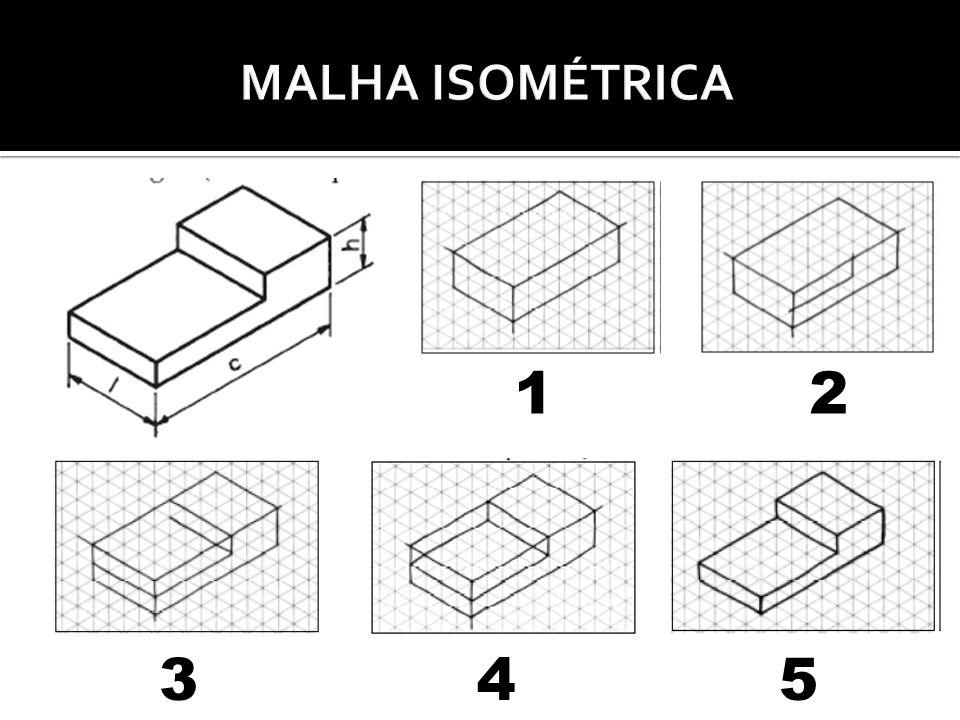 MALHA ISOMÉTRICA 1 2 3 4 5