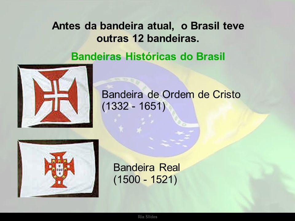 Antes da bandeira atual, o Brasil teve outras 12 bandeiras.
