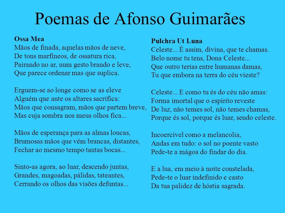 Poemas de Afonso Guimarães