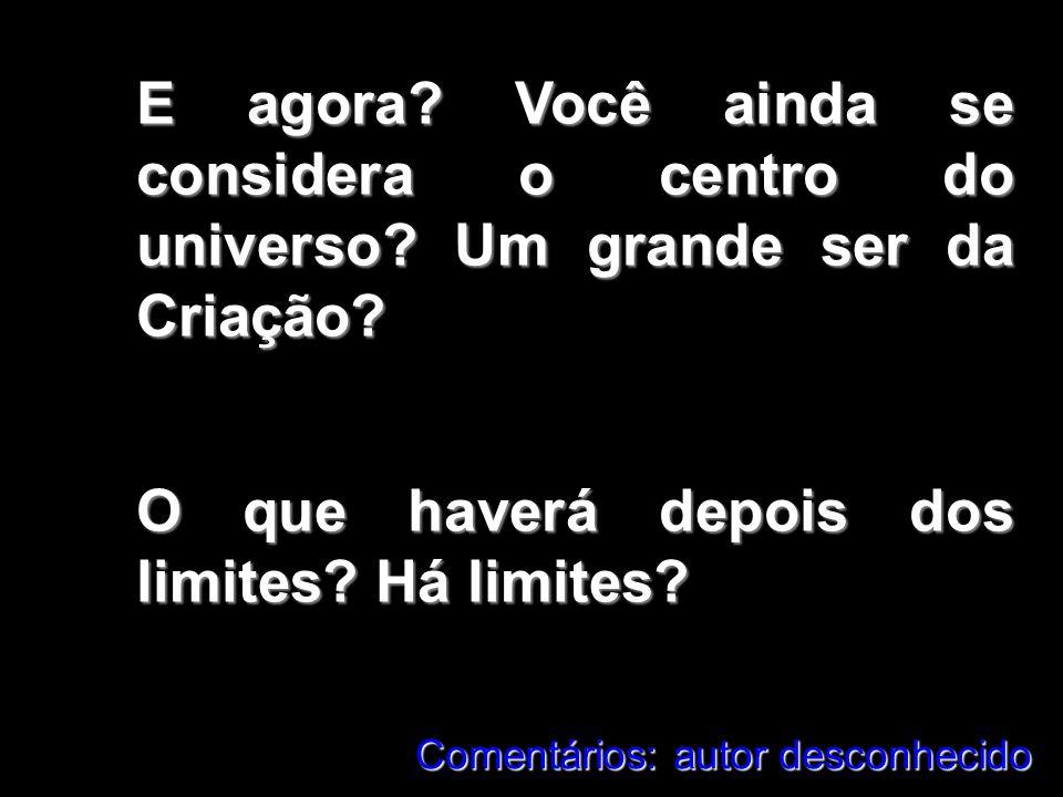 O que haverá depois dos limites Há limites