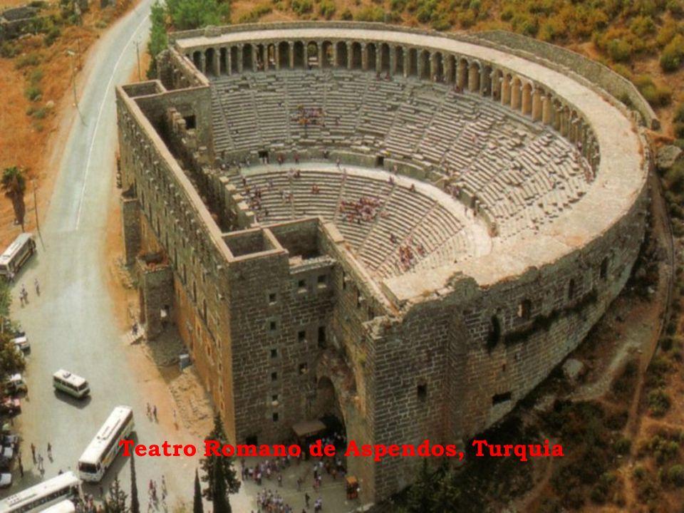 Teatro Romano de Aspendos, Turquia