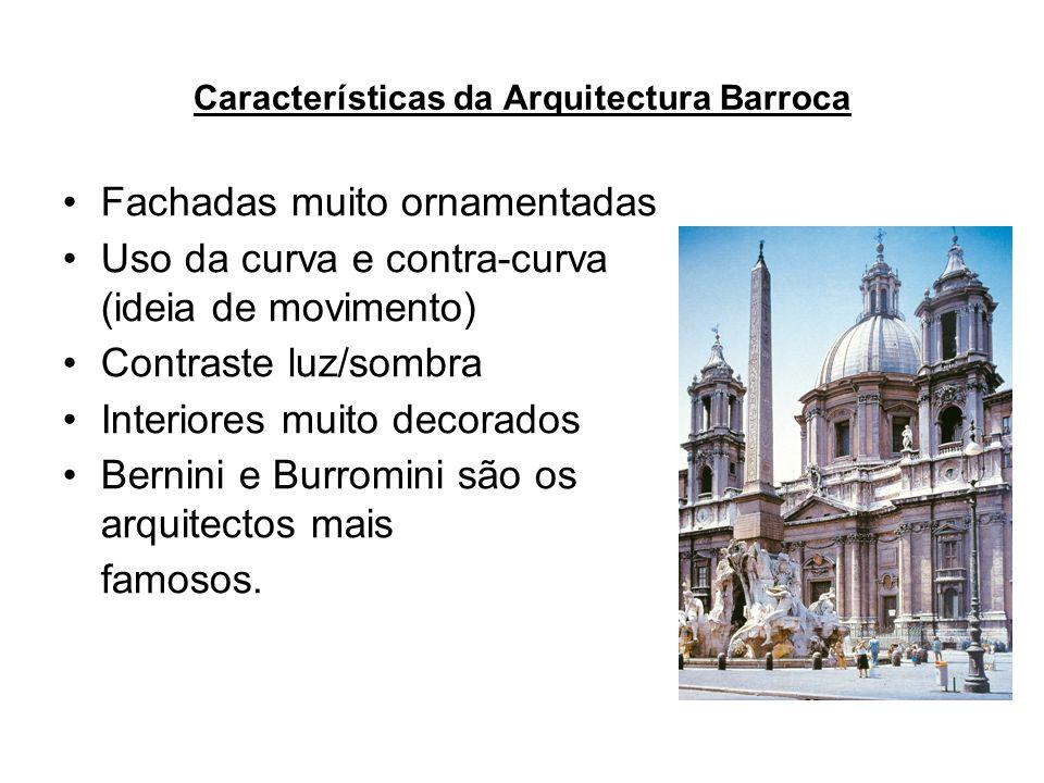 Características da Arquitectura Barroca