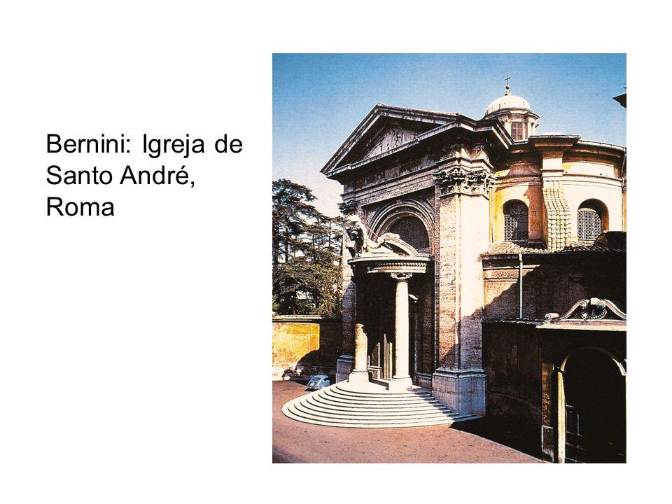 Bernini: Igreja de Santo André, Roma