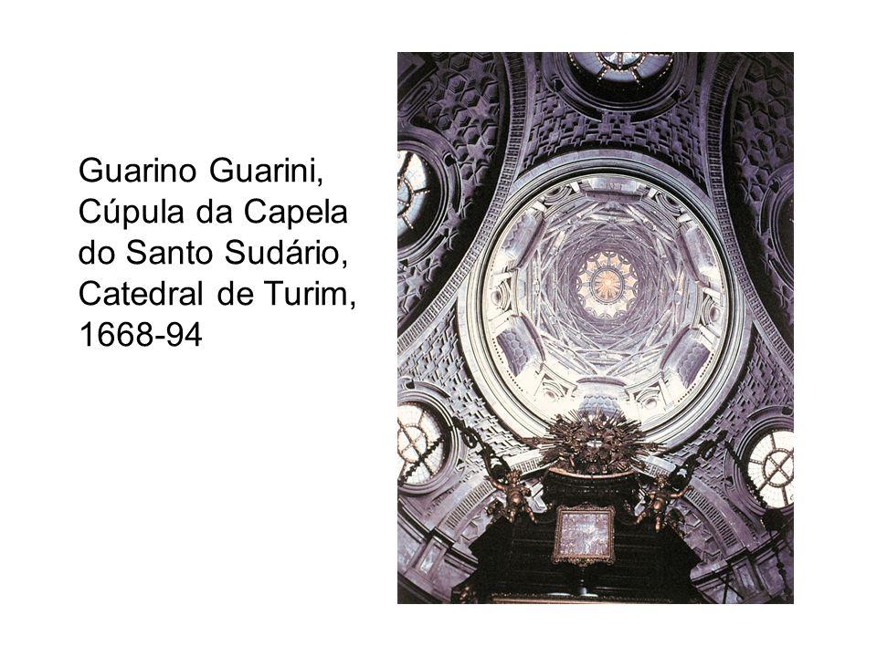 Guarino Guarini, Cúpula da Capela do Santo Sudário, Catedral de Turim, 1668-94