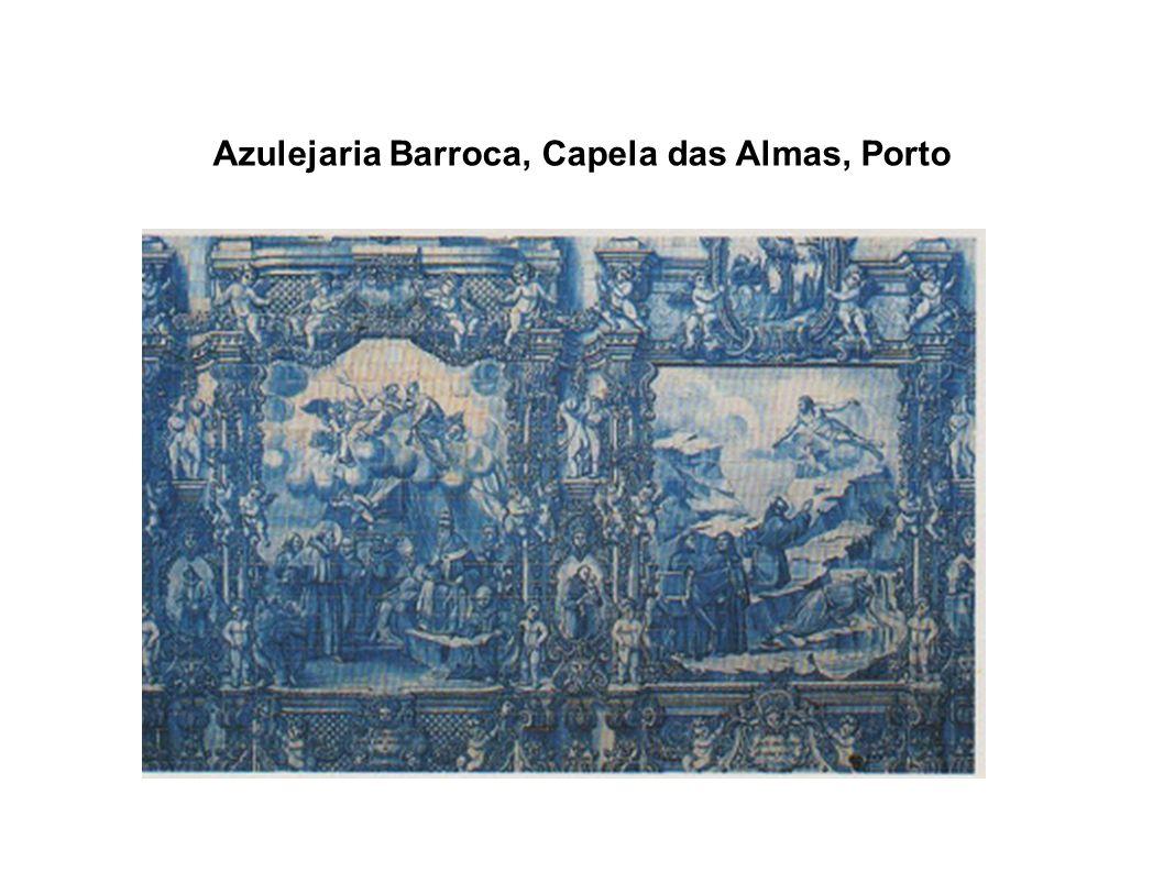 Azulejaria Barroca, Capela das Almas, Porto