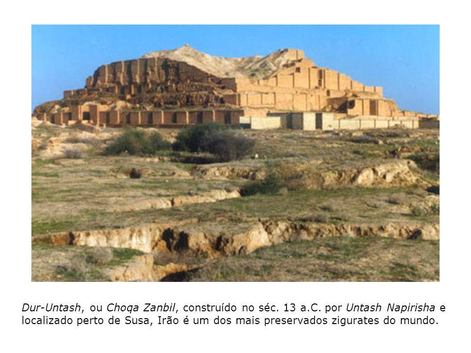 Dur-Untash, ou Choqa Zanbil, construído no séc. 13 a. C