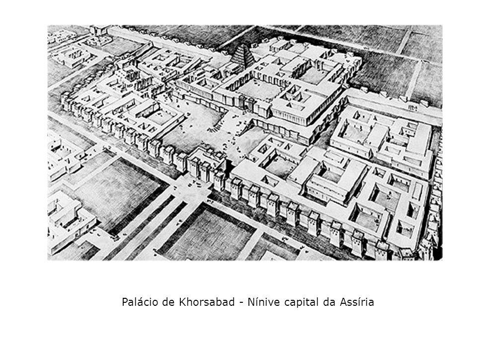 Palácio de Khorsabad - Nínive capital da Assíria