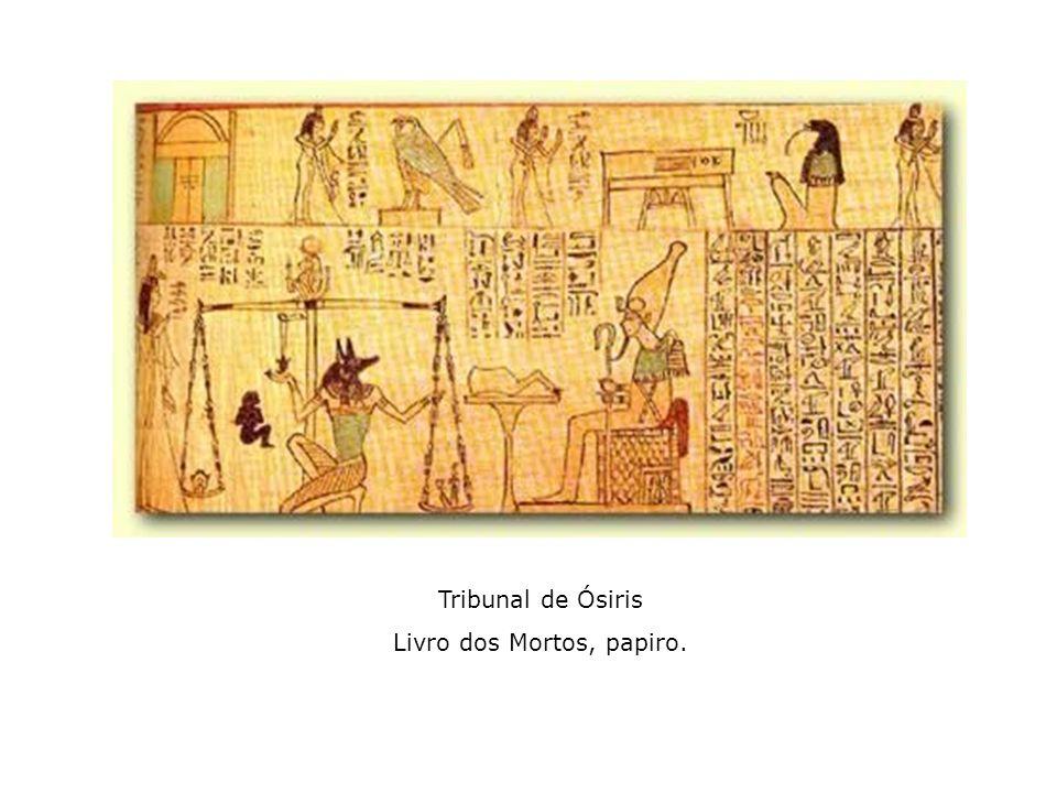 Livro dos Mortos, papiro.