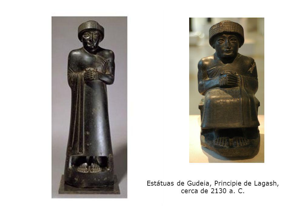 Estátuas de Gudeia, Principie de Lagash, cerca de 2130 a. C.