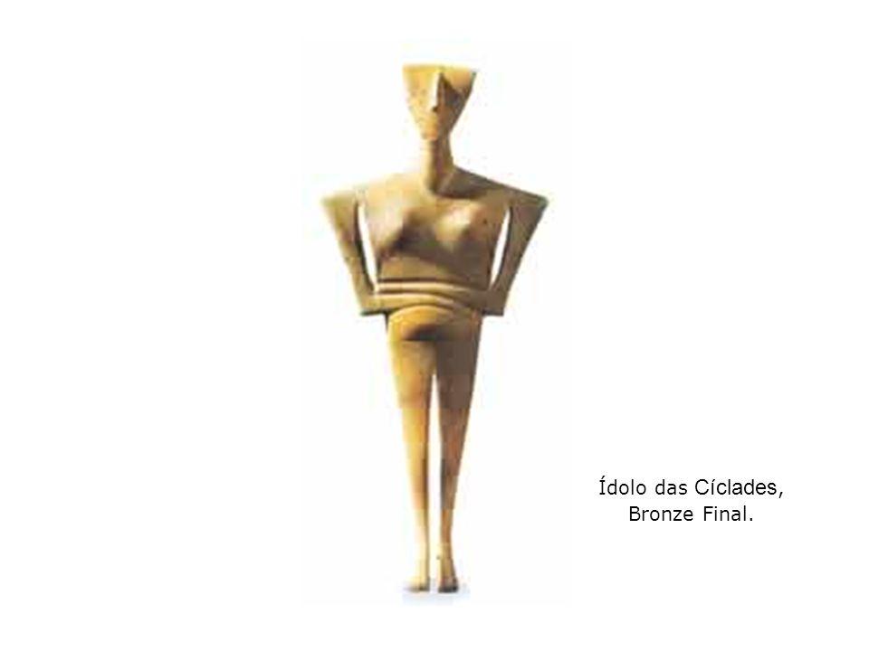 Ídolo das Cíclades, Bronze Final.