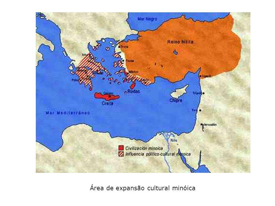 Área de expansão cultural minóica