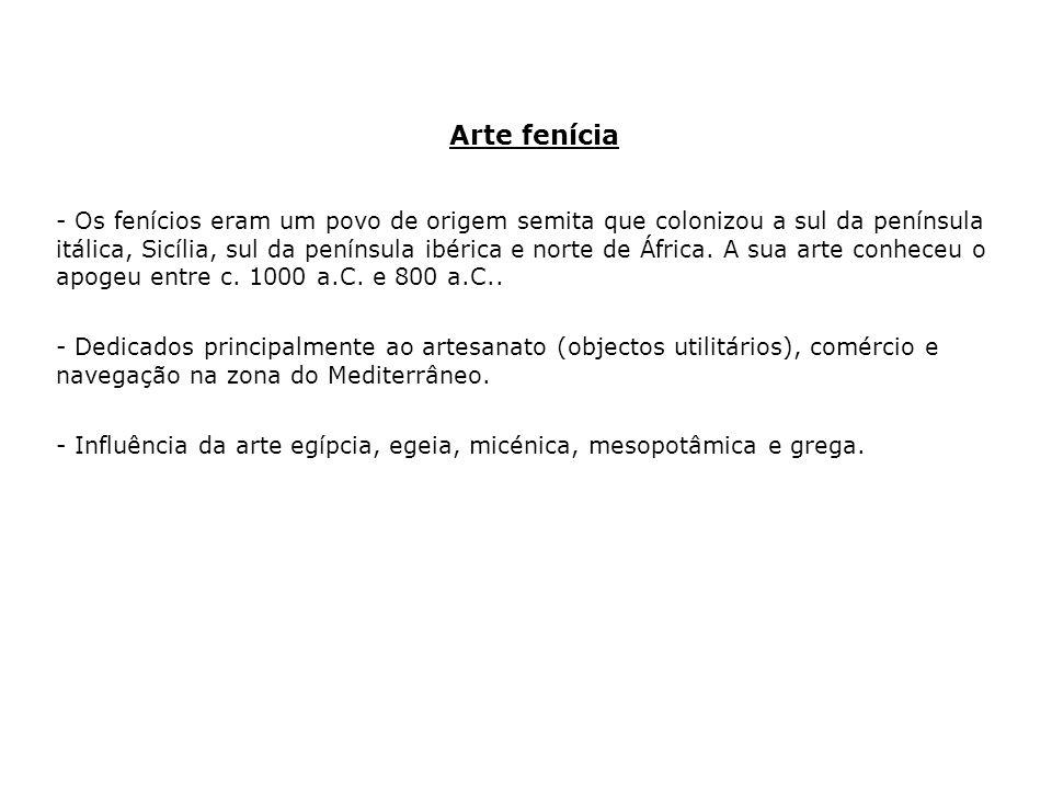 Arte fenícia